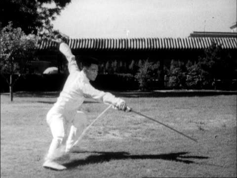 chinese produced cultural survey of 1963 china - martial arts stock videos & royalty-free footage