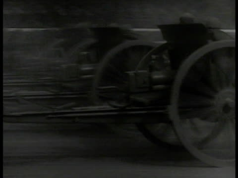 chinese soldiers walking horseback mobilizing ms artillery being pulled by horses ws shanghai hotel street xla xws chinese fighter airplanes flying... - 1937 stock videos and b-roll footage