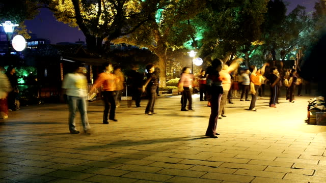 chinese street dance blurred motion - martial arts stock videos and b-roll footage
