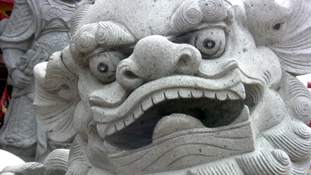 chinese tempel in bangkok - igneous stock videos & royalty-free footage