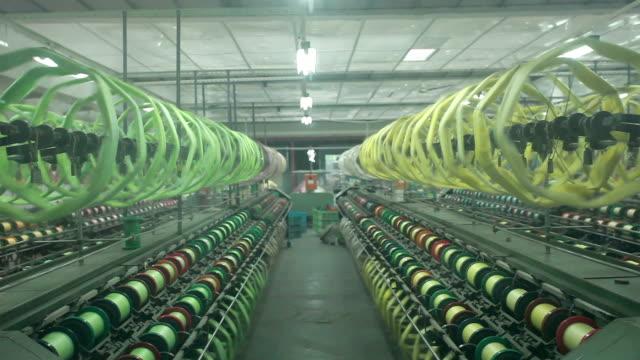 Usine de textile en Chine intérieure et des scènes de travail