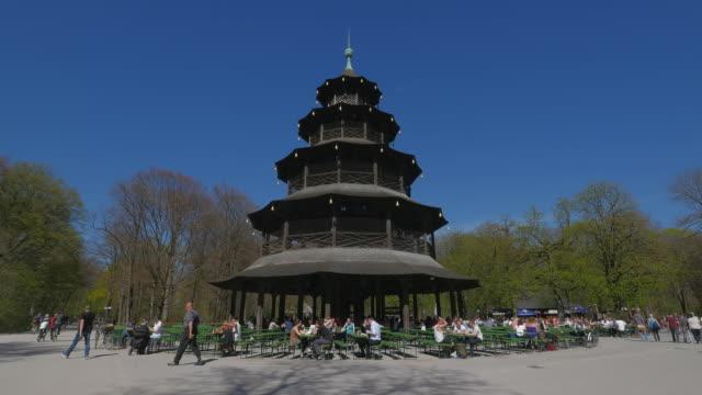 Chinese Tower, Englischer Garten, Munich, Germany