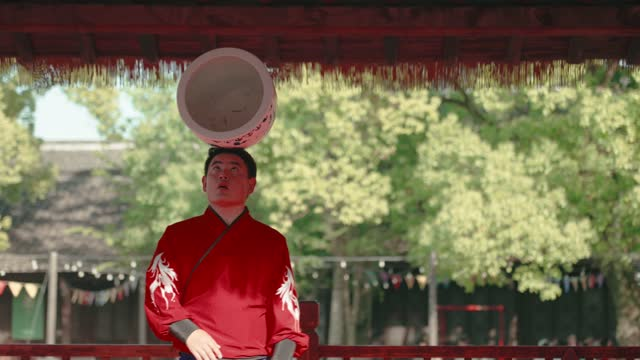 chinese traditional acrobatic performance - tradition stock videos & royalty-free footage