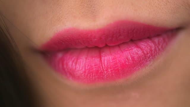 Chinese woman's lips