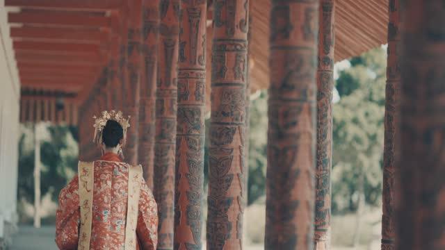 vídeos de stock, filmes e b-roll de mulheres chinesas em hanfu, roupas antigas - cultura chinesa