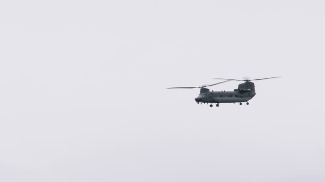 chinook helicopter - military helicopter stock videos and b-roll footage