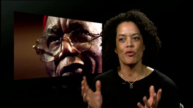 chinua achebe the grandfather of african literature dies aged 82 england london gir aminatta forna interview sot achebe wrote things fall apart in... - joseph conrad stock videos and b-roll footage