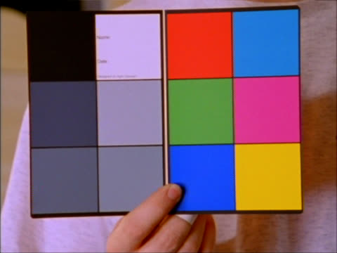 chip chart - color swatch stock videos & royalty-free footage