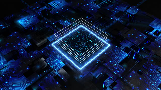 chip processor, alien cube, borg collective, construction, geometric genius shape, building, 3d cubes, fantasy space - cube stock videos & royalty-free footage