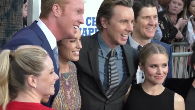 """chips"" cast at the ""chips"" los angeles premiere at the ""chips"" los angeles premiere at tcl chinese theatre on march 20, 2017 in hollywood,... - tcl chinese theatre stock videos & royalty-free footage"