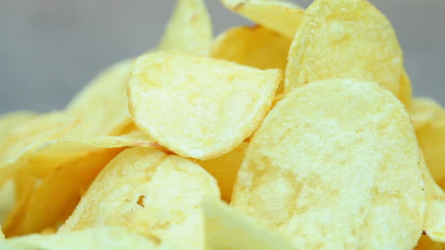 chips - crisps stock videos & royalty-free footage