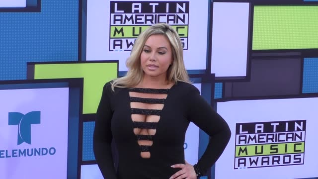 Chiquis Rivera at the 2016 Latin American Music Awards at Dolby Theatre in Hollywood at 2016 Latin American Music Awards on October 06 2016 in...