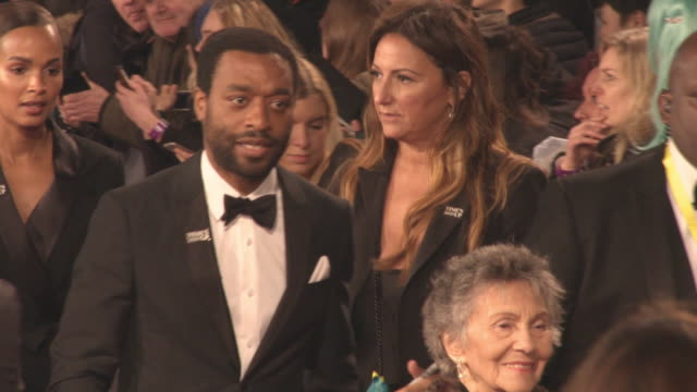 Chiwetel Eijofor at the EE British Academy Film Awards at Royal Albert Hall on February 18 2018 in London England