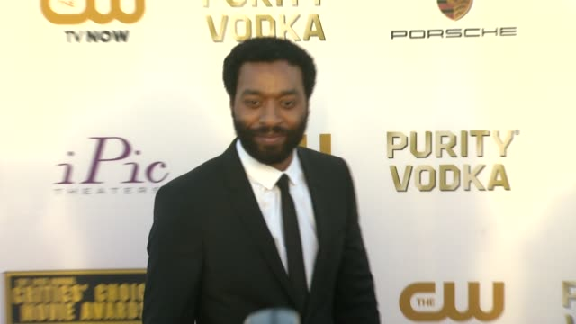 Chiwetel Ejiofor at 19th Annual Critics' Choice Movie Awards Arrivals at The Barker Hanger on in Santa Monica California