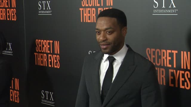 Chiwetel Ejiofor at Secret In Their Eyes Los Angeles Premiere at Hammer Museum on November 11 2015 in Westwood California