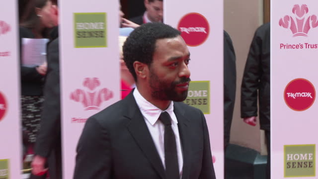 chiwetel ejiofor at the prince's trust tk maxx and homesense celebrate success awards on march 13, 2019 in london, united kingdom. - award stock videos & royalty-free footage