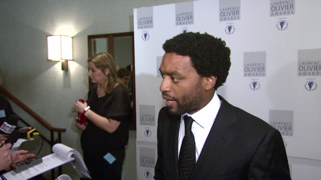 Chiwetel Ejiofor at the The Laurence Olivier Awards at the Grosvenor House in London on March 9 2008