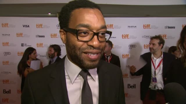 INTERVIEW Chiwetel Ejiofor on the event at '12 Years A Slave' Premiere 2013 Toronto International Film Festival on 9/6/2013 in Toronto Canada