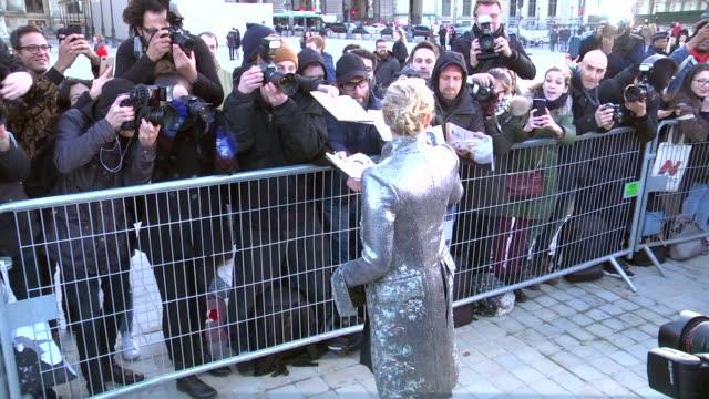 chloë grace moretz arrives at the louis vuitton show as part of the paris fashion week womenswear fall/winter 2018/2019 on march 6, 2018 in paris,... - louis vuitton designer label stock videos & royalty-free footage