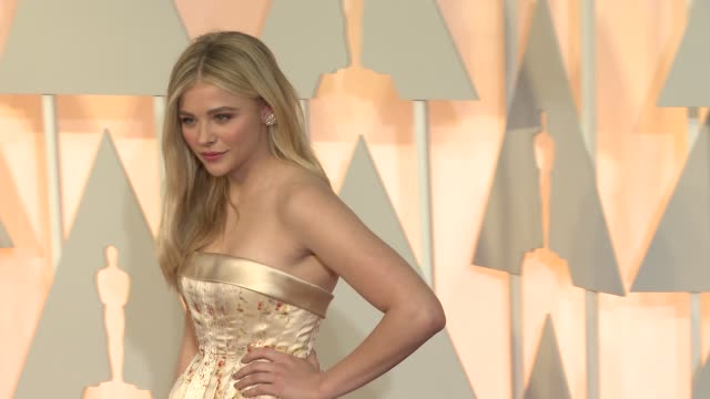 Chloë Grace Moretz at the 87th Annual Academy Awards Arrivals at Dolby Theatre on February 22 2015 in Hollywood California