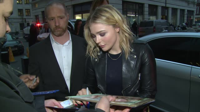 Chloë Grace Moretz on January 21 2016 in London England