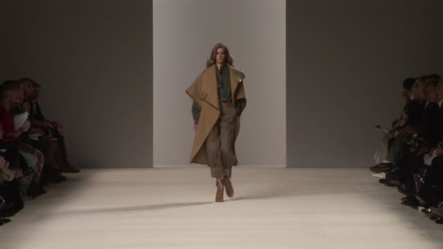paris fashion week a/w 2009 at paris - chloe designer label stock videos and b-roll footage