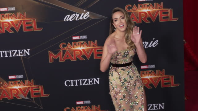 Chloe Bennet at the 'Captain Marvel' World Premiere