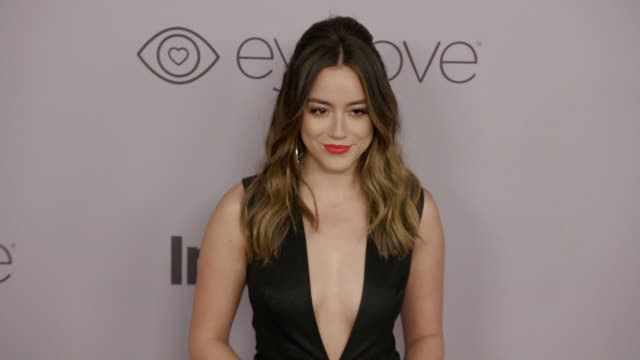 Chloe Bennet at the Warner Bros Pictures and InStyle Host 19th Annual PostGolden Globes Party at The Beverly Hilton Hotel on January 7 2018 in...