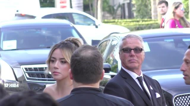 Chloe Bennett at Avengers Infinity War premiere in Hollywood in Celebrity Sightings in Los Angeles