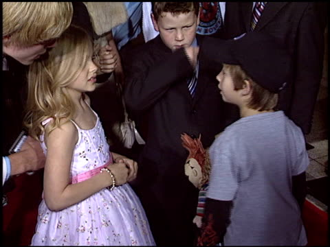 chloe grace moretz at the premiere of 'the amityville horror' at arclight cinemas in hollywood california on april 7 2005 - chloe designer label stock videos and b-roll footage