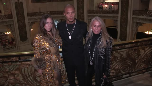 Chloe GreenJeremy Meeks and Tina Green Arizona Muse Deborah Valdez Hung attend the Ralph and Russo Couture Spring Summer 2018 Fashion Show in Paris...
