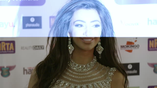 chloe khan at national reality tv awards on september 29 2016 in london england - reality tv stock videos & royalty-free footage