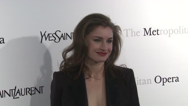 Chloe Malle at Metropolitan Opera Gala Premiere Of Jules Massenet's Manon at The Metropolitan Opera House on March 26 2012 in New York New York