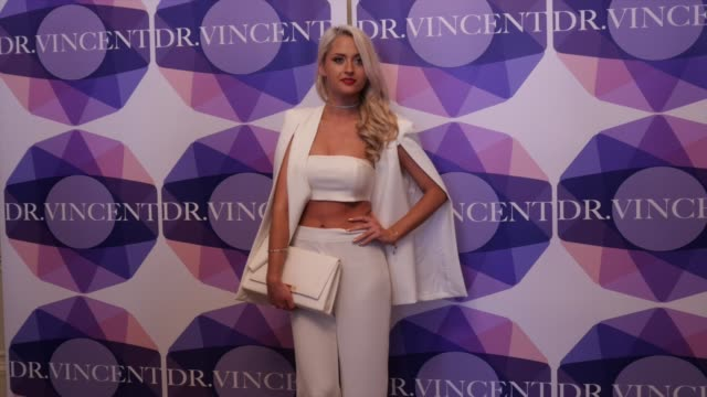 Chloe Paige attends the Biofibre hair implant launch party at 10 Harley Street on May 17 2016 in London England
