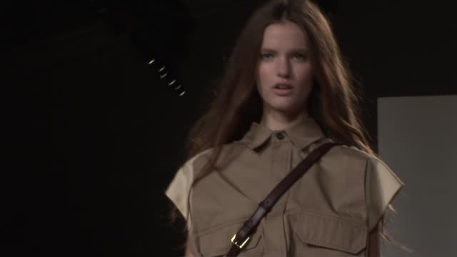 paris fashion week s/s 2010 at the chloe paris fashion week s/s 2010 at paris - chloe designer label stock videos and b-roll footage
