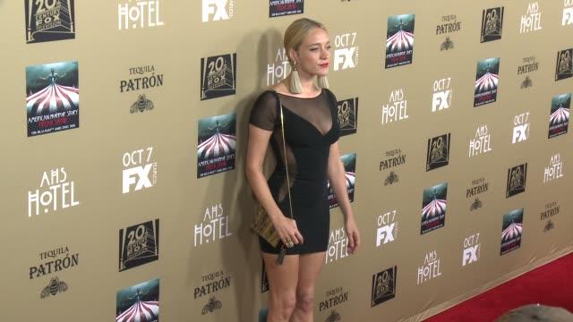 Chloe Sevigny at FX's American Horror Story Hotel Los Angeles Premiere at Regal Cinemas LA Live on October 03 2015 in Los Angeles California