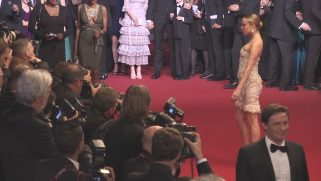 chloe sevigny at 'personal shopper' - red carpet at grand theatre lumiere on may 17, 2016 in cannes, france. - cannes stock videos & royalty-free footage