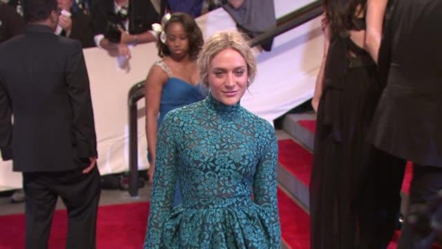 Chloe Sevigny at the 'American Woman Fashioning A National Identity' Met Gala Arrivals at New York NY