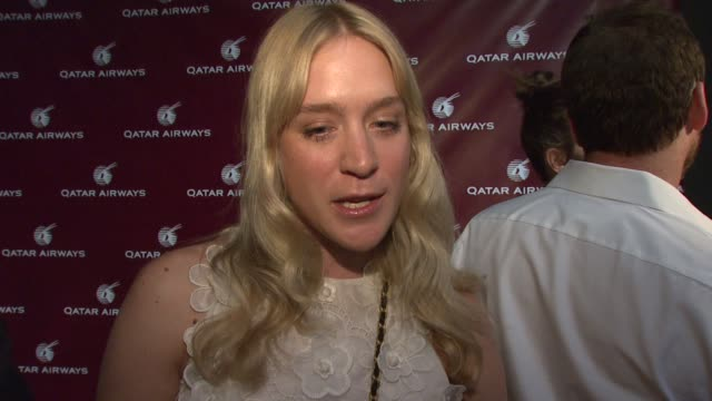 Chloe Sevigny on her projects on hooking up with old friends at the Qatar Airways Gala looking forward to Diana Ross singing and her exciting...