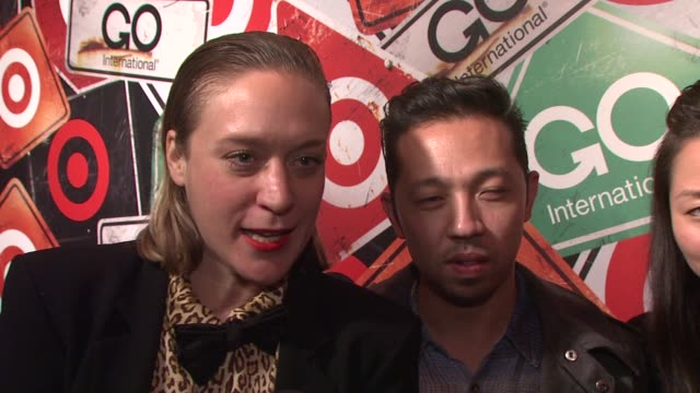 Chloe Sevigny on how cool it is that Target brings these designers to everyone at the Target's GO International Designer Collective Launch at New...