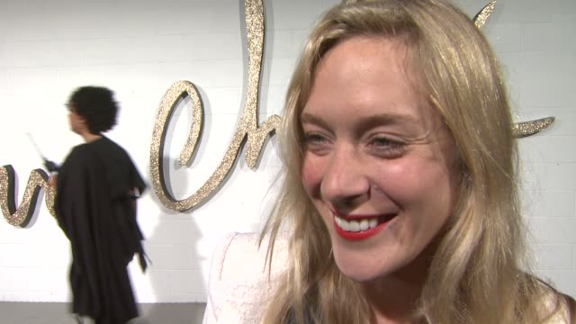 Chloe Sevigny on what she's wearing on her favorite thing about Chloe on why she wanted to host tonight's event on her favorite Chloe item in her...