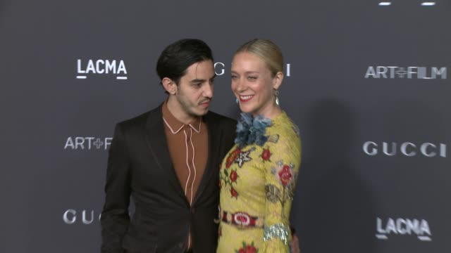 Chloe Sevigny Ricky Saiz at 2015 LACMA ArtFilm Gala Honoring Alejandro G Inarritu And James Turrell Presented By Gucci at LACMA on November 07 2015...