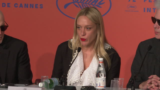 Chloe Sevigny talks about her early relationship with horror films at 'The Dead Don't Die' Press Conference The 72nd Cannes Film Festival on May 15...