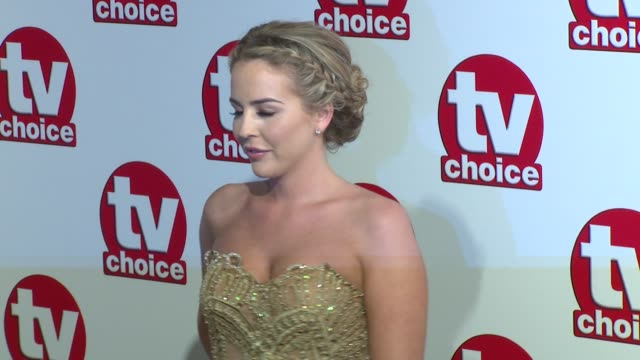 chloe sims lydia bright jane danson lucy pargeter brooke vincent at the tv choice awards 2014 on 8th september 2014 in london england - jane danson stock videos and b-roll footage
