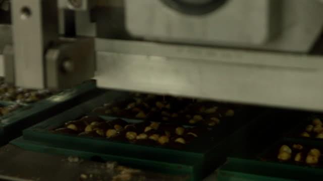 chocolate factory - voll stock-videos und b-roll-filmmaterial