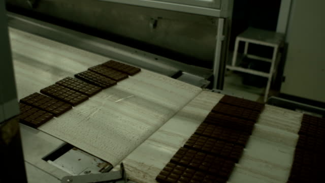 chocolate factory - chocolate factory stock videos & royalty-free footage