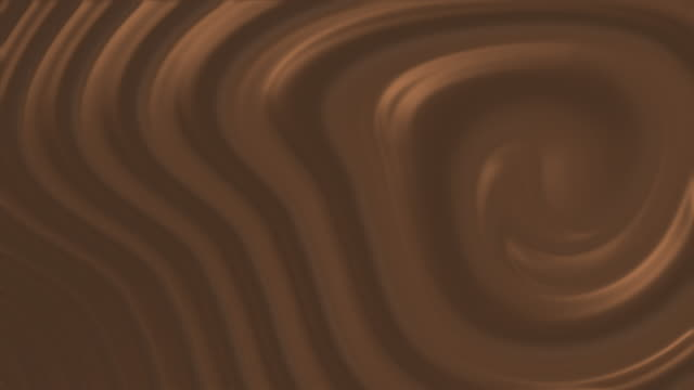 chocolate liquid and jelly cream twisting and looping stock video - brown stock videos & royalty-free footage