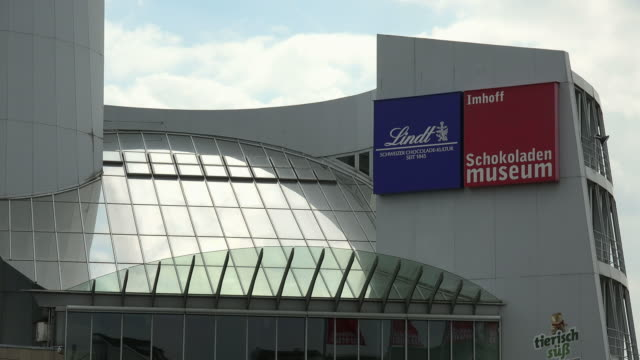 chocolate museum, cologne, north rhine westphalia, germany - 英字点の映像素材/bロール
