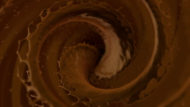 chocolate swirl - refreshment stock videos and b-roll footage
