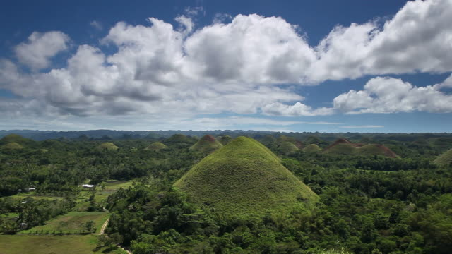 Chocoloate Hills, Bohol, Philippines